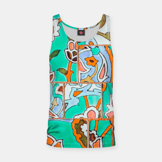 Thumbnail image of Floral Morocco Tank Top, Live Heroes