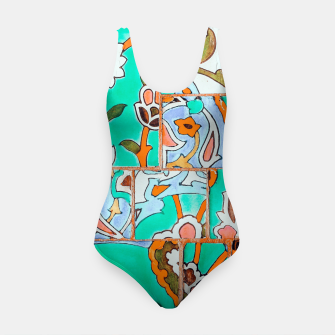 Thumbnail image of Floral Morocco Swimsuit, Live Heroes