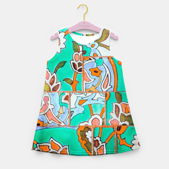 Thumbnail image of Floral Morocco Girl's summer dress, Live Heroes