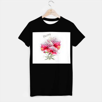 Thumbnail image of watercolor peony on white background, Live Heroes