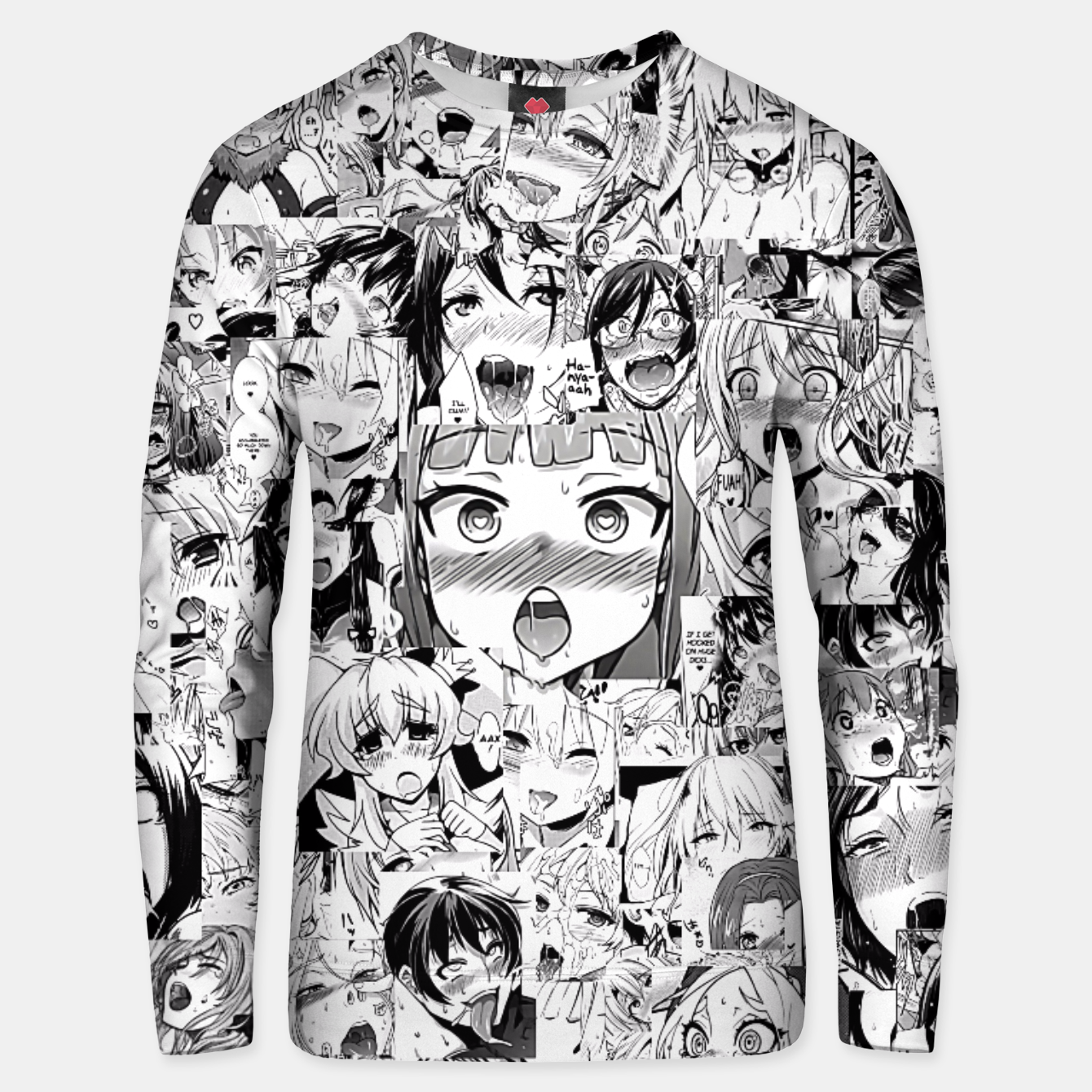 Image of Ahegao classic Unisex sweater - Live Heroes