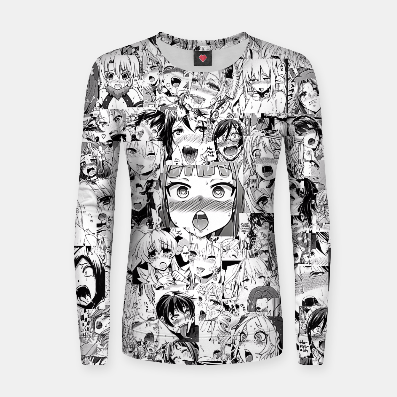 Image of Ahegao classic Women sweater - Live Heroes