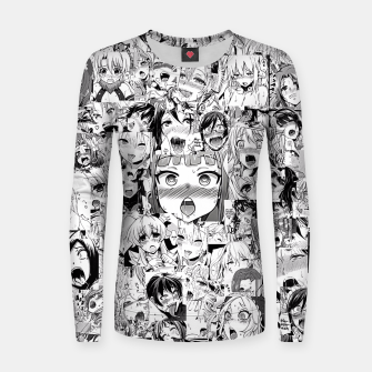 Thumbnail image of Ahegao classic Women sweater, Live Heroes
