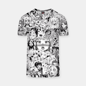 Thumbnail image of Ahegao classic T-shirt, Live Heroes