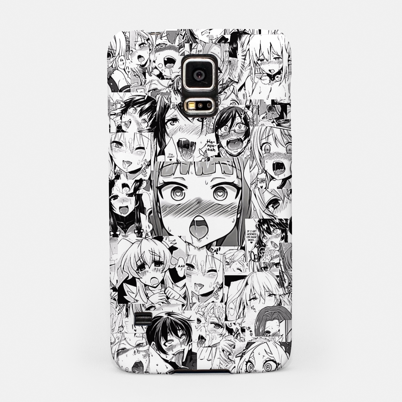 Image of Ahegao classic Samsung Case - Live Heroes
