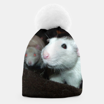 Thumbnail image of smiling rat beanie, Live Heroes