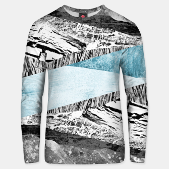 Thumbnail image of A break in the mountains Unisex sweater, Live Heroes