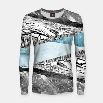 Thumbnail image of A break in the mountains Women sweater, Live Heroes