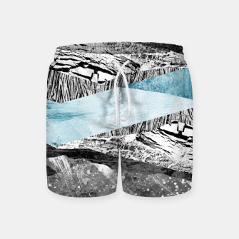 Thumbnail image of A break in the mountains Swim Shorts, Live Heroes