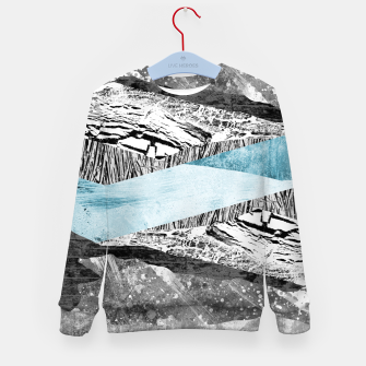 Thumbnail image of A break in the mountains Kid's sweater, Live Heroes