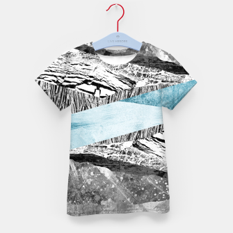 Thumbnail image of A break in the mountains Kid's t-shirt, Live Heroes