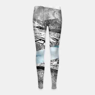 Thumbnail image of A break in the mountains Girl's leggings, Live Heroes