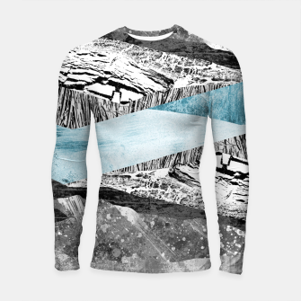 Thumbnail image of A break in the mountains Longsleeve rashguard , Live Heroes
