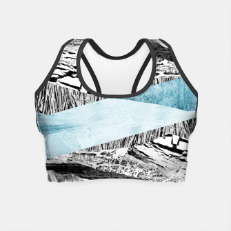 Miniatur A break in the mountains Crop Top, Live Heroes