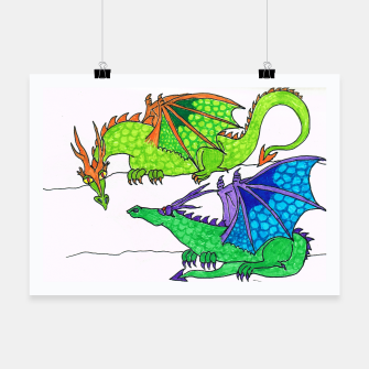 Miniaturka dragon friends poster, Live Heroes