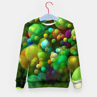 Thumbnail image of Bubbles Kid's sweater, Live Heroes