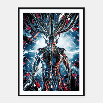 Thumbnail image of Servant Of The Machine Framed poster, Live Heroes