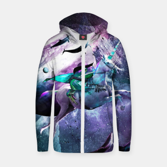 Thumbnail image of Epic Frog Zip up hoodie, Live Heroes