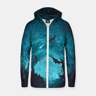 Thumbnail image of Mother of Dragons Zip up hoodie, Live Heroes