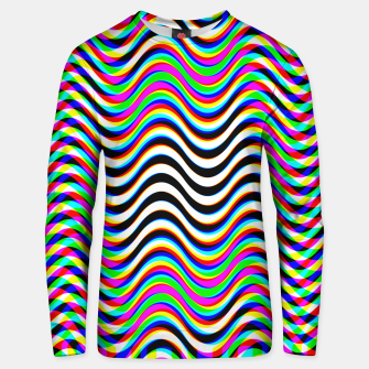 Thumbnail image of Psychedelic Waves Unisex sweater, Live Heroes