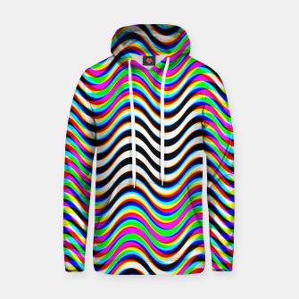 Psychedelic Waves Hoodie thumbnail image