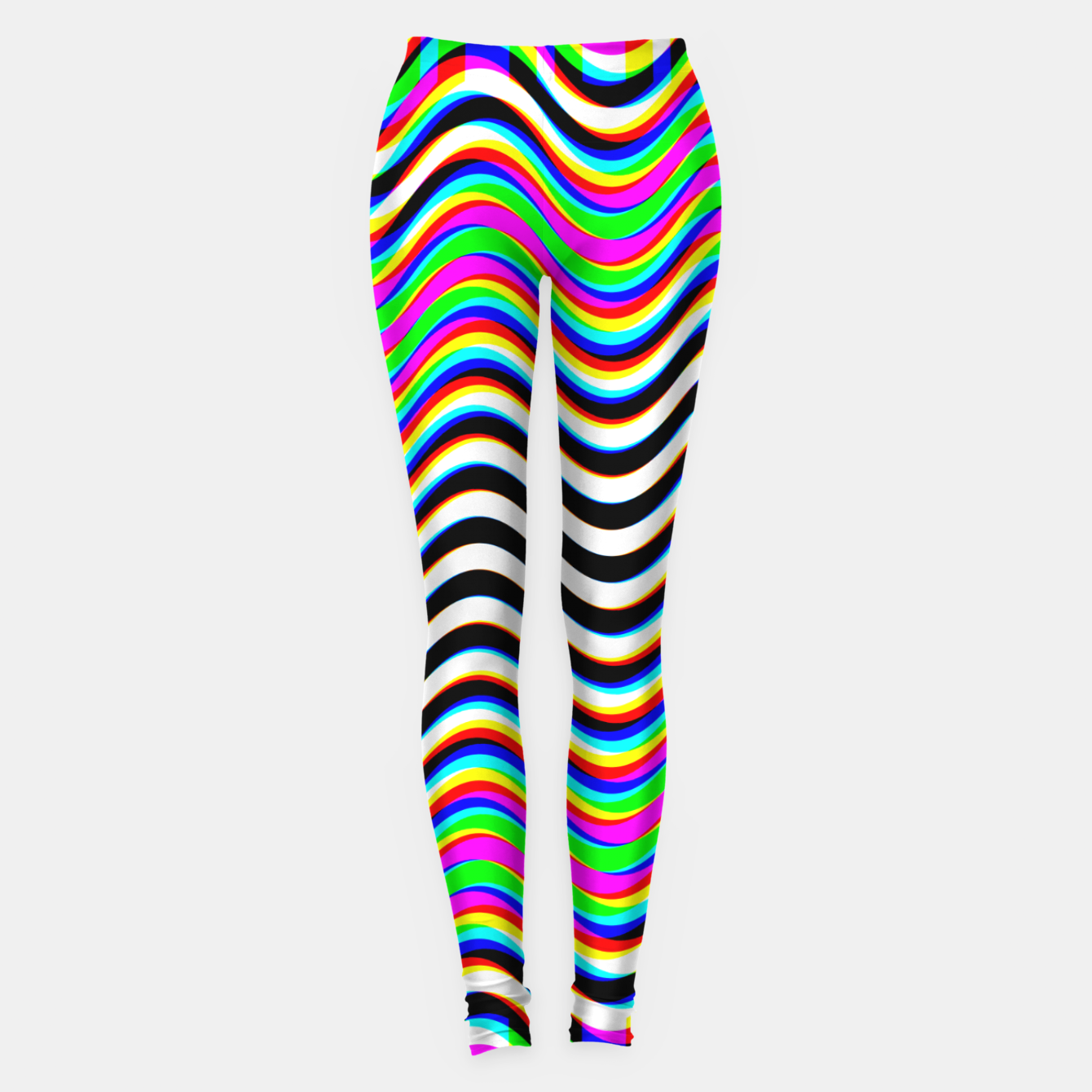 Image of Psychedelic Waves Leggings - Live Heroes