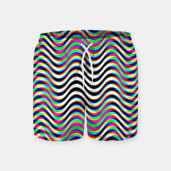 Thumbnail image of Psychedelic Waves Swim Shorts, Live Heroes