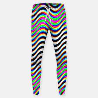 Thumbnail image of Psychedelic Waves Sweatpants, Live Heroes