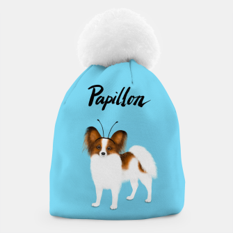 Papillon (Blue) Beanie miniature