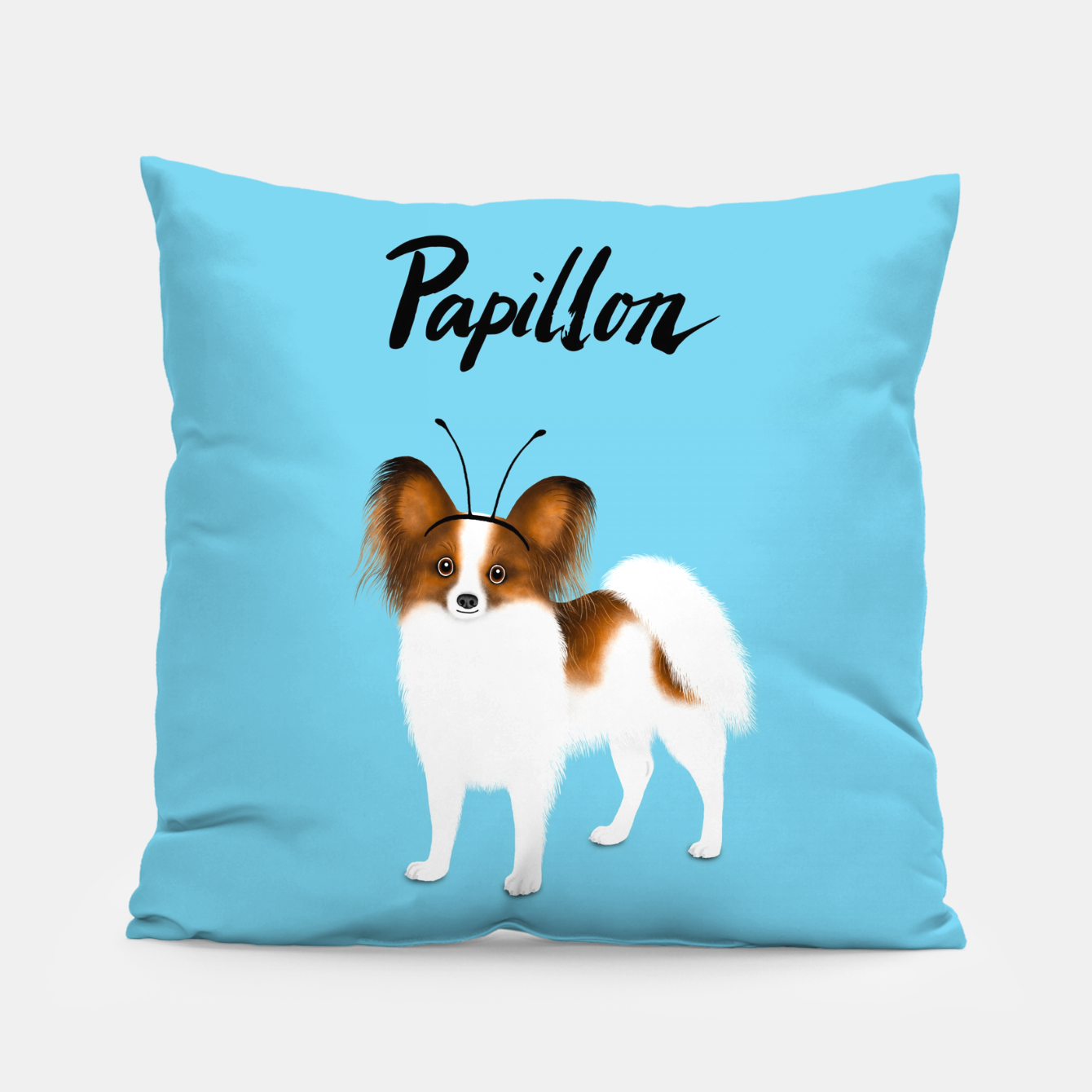 Image de Papillon (Blue) Pillow - Live Heroes