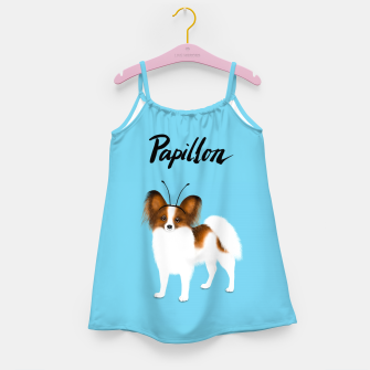 Papillon (Blue) Girl's dress miniature