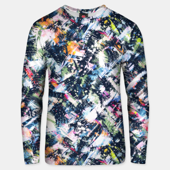 Paintbrush abstract Sudadera unisex thumbnail image