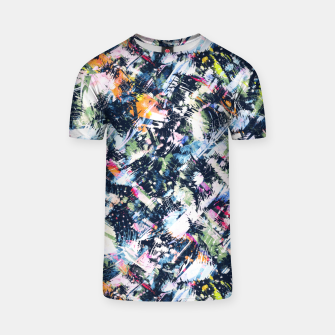 Paintbrush abstract Camiseta thumbnail image
