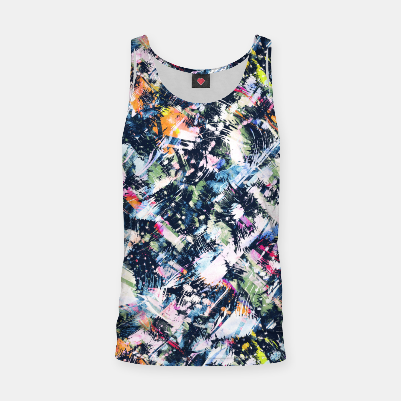 Image of Paintbrush abstract Camiseta de tirantes - Live Heroes