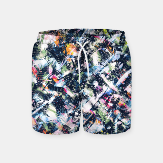 Miniature de image de Paintbrush abstract Pantalones de baño, Live Heroes