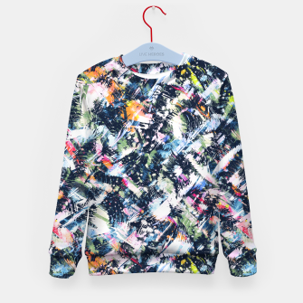 Paintbrush abstract Sudadera para niños thumbnail image