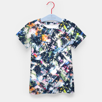 Paintbrush abstract Camiseta para niños thumbnail image