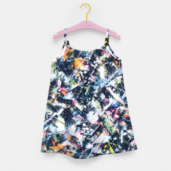 Miniature de image de Paintbrush abstract Vestido para niñas, Live Heroes
