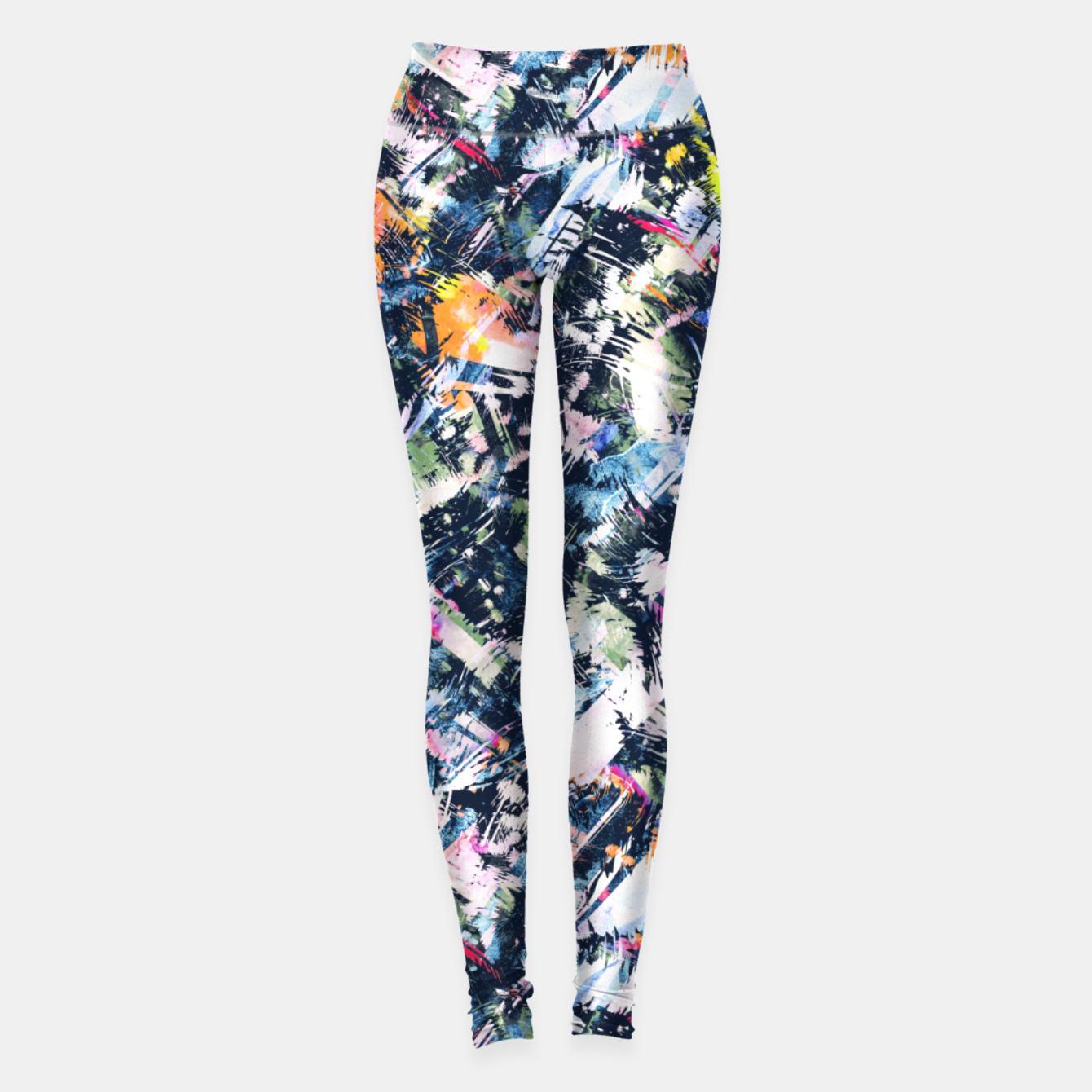 Image of Paintbrush abstract Leggings - Live Heroes