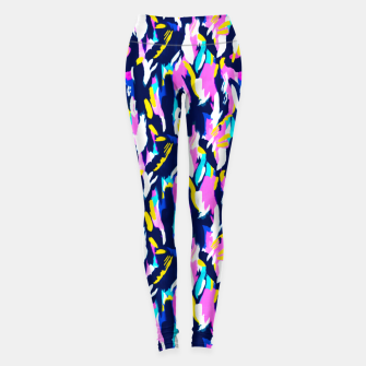 Miniature de image de Colorful brushstrokes II Leggings, Live Heroes