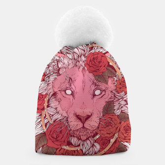 Thumbnail image of Flower Lion Beanie, Live Heroes