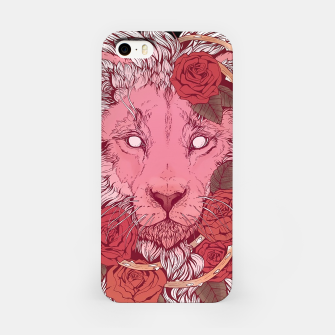 Thumbnail image of Flower Lion iPhone Case, Live Heroes