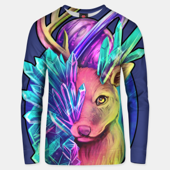 Thumbnail image of Crystal Deer Unisex sweater, Live Heroes