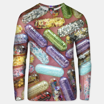 Thumbnail image of Pills full of stars Unisex sweater, Live Heroes