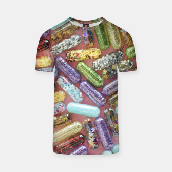 Thumbnail image of Pills full of stars T-shirt, Live Heroes