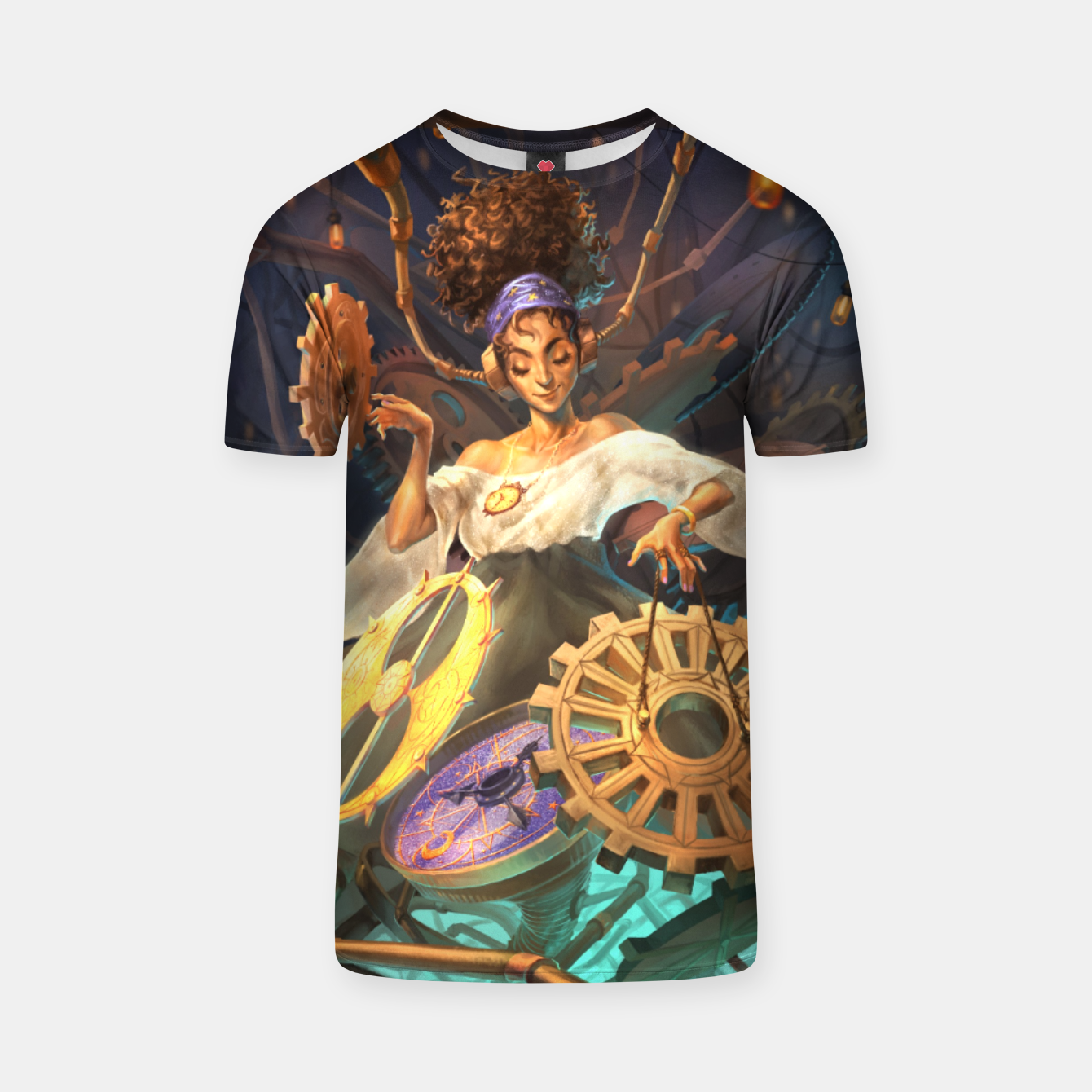 Image of Time DJ T-shirt - Live Heroes