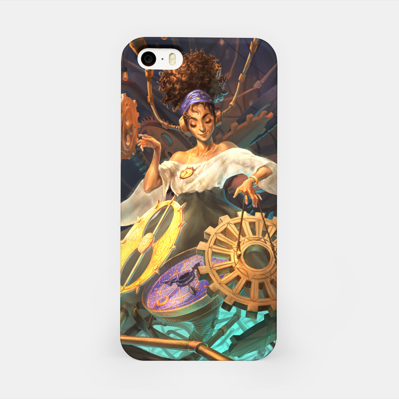 Image of Time DJ iPhone Case - Live Heroes