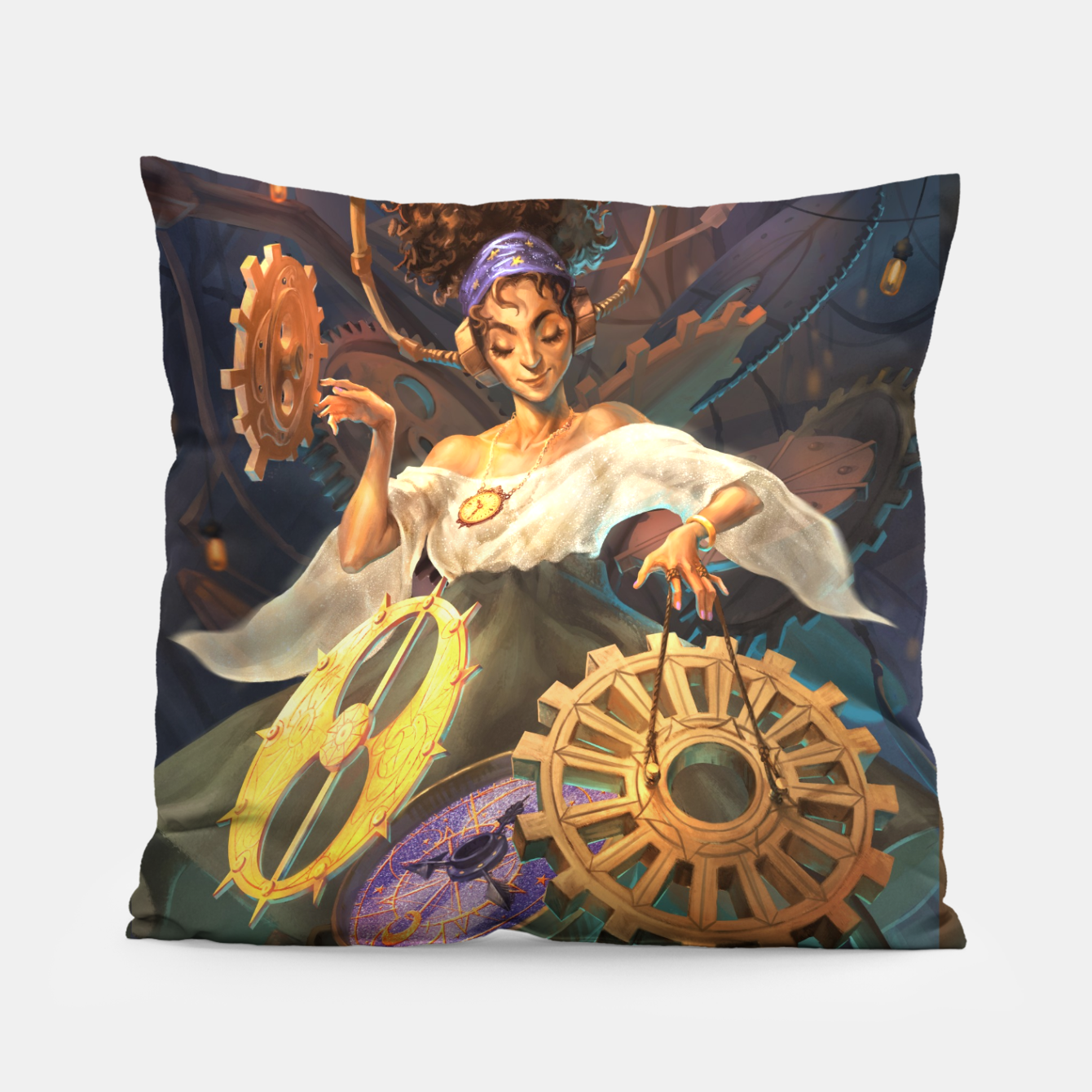 Image of Time DJ Pillow - Live Heroes