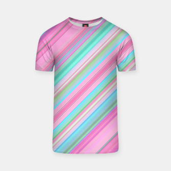 Thumbnail image of Sloping Lines T-shirt, Live Heroes