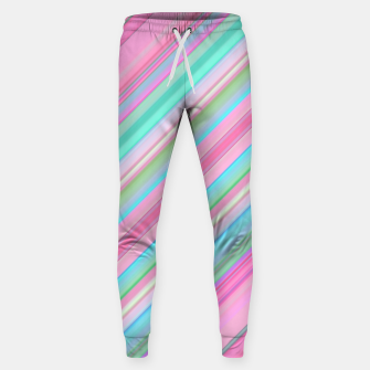 Sloping Lines Sweatpants miniature